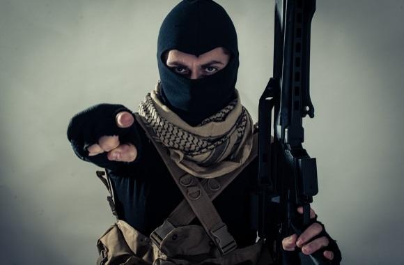 Terrorist.Shutterstock