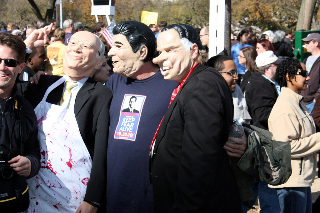 Dick Cheney, Ronald Reagan and Richard Nixon